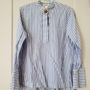 SOLD - Classic blue stripe shirt
